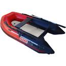 ALEKO BTSDAIR250RBK-AP Inflatable Air Floor Fishing Boat - 8.4 Foot - Red and Black