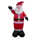 ALEKO CHID011-AP Giant Inflatable LED Waving Santa Claus with UL Certified Blower - 8 Foot