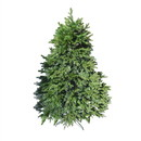 ALEKO CT6FT006-AP Pre-Lit Premium Lush Artificial Holiday Christmas Tree - 6 Foot - Green