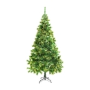 ALEKO CT83H14 Luscious Artificial Indoor 7 Feet (2.1 m) Christmas Holiday Pine Tree With Golden Tips