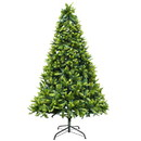 ALEKO CT9FT011-AP Traditional Artificial Indoor Christmas Holiday Tree - 9 Foot
