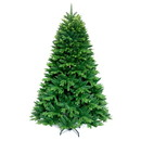 ALEKO CTG83H1427-AP Ultra Lush Traditional Lifelike Artificial Indoor Christmas Holiday Tree - 7 Foot