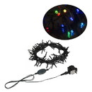 ALEKO EL100LEDCCRGB-AP Electric Powered Extendable String Lights - 100 LED - 34 Feet - Multicolored