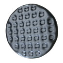 ALEKO Inflatable Round Insulator Top for 4-Person Inflatable Hot Tub - Black