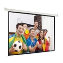 ALEKO MPS92-AP Motorized Drop Down Projector Screen 16:9 with Remote Control - 92 Inches