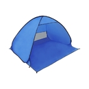 ALEKO PTB17 Large Outdoor Portable Instant Pop Up Beach Sun Shelter Tent, Blue