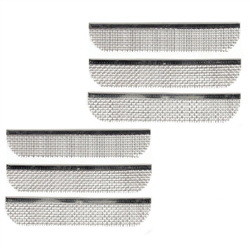 ALEKO RVS008 Stainless Steel RV Vent Screen for Bugs Birds Rodent Protection 1.3 x 27.5 Inches Lot of 3