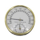 ALEKO WJ07-AP Stainless Steel Thermo-Hygrometer - Temperature Range - 50F to 250F