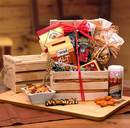 Gift Basket 810792 Premium Nuts & Snacks Crate