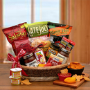 Gift Basket 810811 A Little Spice Gourmet Salsa & Chips Gift Basket