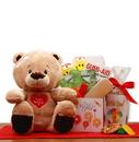 Gift Basket 813513 Get Well Soon Teddy Bear Gift Set
