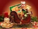 Gift Basket 815313 Seasons Greetings Holiday Sleigh, small