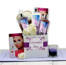 Gift Basket 819852 Lavender Spa Care Package
