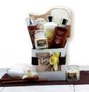 Gift Basket 819872 Vanilla Spa Care Package