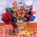 Gift Basket 820122 Blockbuster Night Movie Gift Pail - Medium