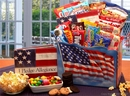 Gift Basket 820211 America The Beautiful Snack Gift Box