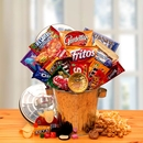 Gift Basket 820612 Snack Survival Gift Can