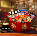 Gift Basket 820672 It's A Red Box Night Gift Box w- Red Box Gift Card