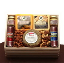 Gift Basket 820992 Premium Selections Meat & Cheese Gift Crate