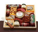Gift Basket 821271 Deluxe Meat & Cheese Lovers Sampler Tray