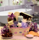 Gift Basket 841194 Tranquility Bath & Body Spa Gift, Medium