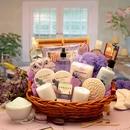 Gift Basket 8413112 The Essence of Lavender Spa Gift Basket