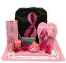 Gift Basket 8413932 Show You Care-Be Aware Breast Cancer Gift tote