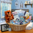 Gift Basket 890111-B Deluxe Welcome Home Precious Baby Basket-Blue