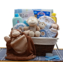 Gift Basket A New Little Monkey New Baby Gift Basket