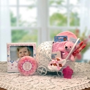 Gift Basket 89052-P Bundle of Joy Baby Carriage - Pink - Medium
