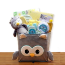 Gift Basket A Little Hoot New Baby Gift Basket