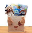 Gift Basket 890731 Puppy Tails New Baby Gift Basket