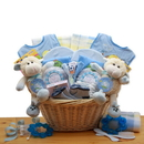 Gift Basket Double Delight Twins New Baby Gift Basket