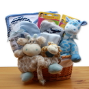 Gift Basket Jungle Safari New Baby Gift Basket