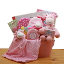 Gift Basket Comfy & Cozy Safari Friends New Baby Gift Basket
