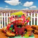 Gift Basket 914251 Little Pinkie Bunnies Easter Fun Pail