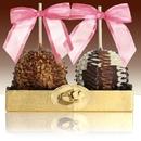 Gift Basket LF-CA01DUO Fancy Chocolate Caramel Apple Duet