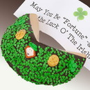 Gift Basket LFTFCH3-2 St Patricks Day Giant Fortune Cookie