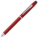 Cross GP-1222 Tech3+ Pen - Translucent Red
