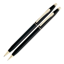 Cross GP-162 Cross Classic Century Pen & Pencil Set - Black