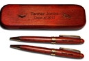 Woodmark GP-320 Themed - Graduation Rosewood Pen & Pencil Set