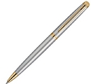 Waterman GP-551 Waterman Hemisphere Stainless Gold Trim Ballpoint Pen