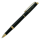 Waterman GP-556 Waterman Hemisphere Black Gold Trim Rollerball Pen