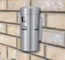 Glaro Deluxe Smoker's Post Wall Mount 8