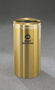 Glaro M-1532 Recycling Receptacle - Recyclepro Single Stream - Mixed Recyclables Opening 2
