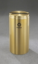Glaro P-1232 Recycling Receptacle - Recyclepro Single Stream - Paper Opening 2.5