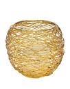 Godinger 11632 Nest Votive Gold Finish Large