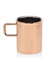 Godinger 18183 Hmmrd Copper Dw Hndld Mug 12oz