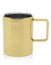 Godinger 18184 Gold Dw Handled Cffe Mug 12oz