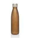 Godinger 19248 Hammered Bottle - Copper 17oz.